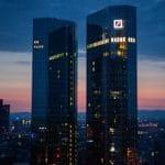 Der Hauptsitz der Deutschen Bank in Frankfurt am Main.
