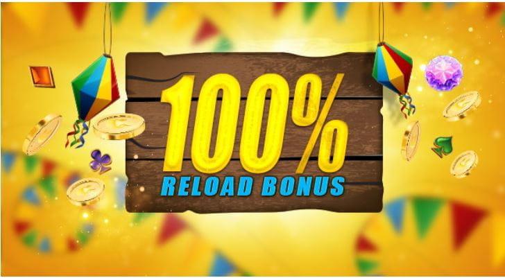 CasinoClub Reload Bonus