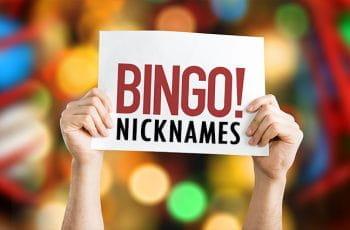 Bingo nicknames