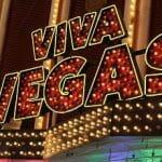 Eine Neon-Reklame mit dem Schriftzug Viva-Vegas.