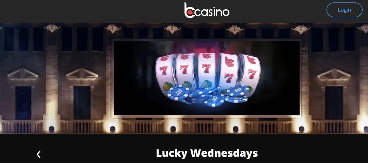 bCasino Lucky Wednesdays.