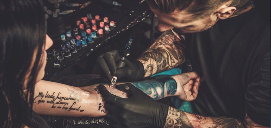 Glücksspiel Tattoos