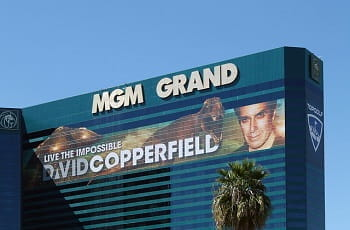 Das MGM Grand in Las Vegas.
