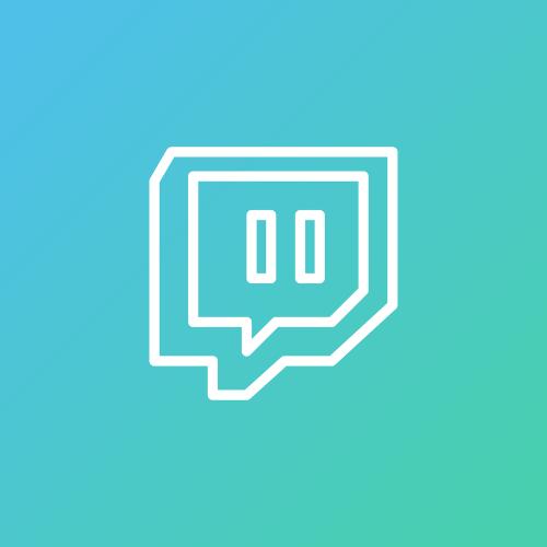 Das Logo von Twitch.
