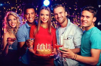Im Casino Geburtstag feiern