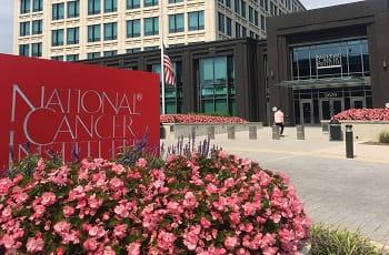 Ein medizinisches Krebszentrum in den USA.