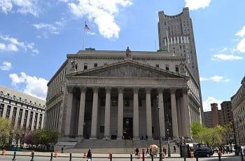 Ein Gerichtsgebäude in den USA.