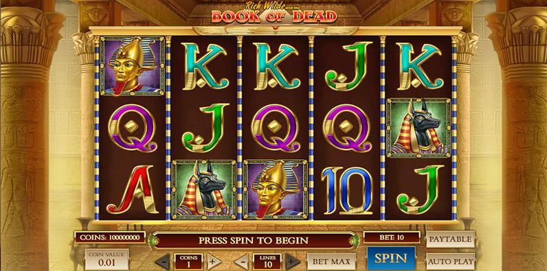 Book of Dead ist einer der bekanntesten Slots.