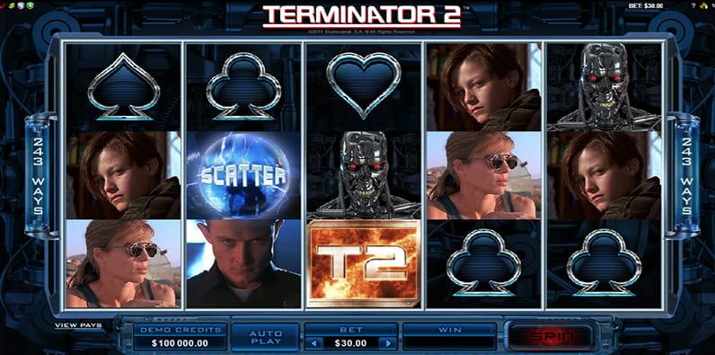Terminator 2 ist ein toller Android Slot mit Film-Thema.