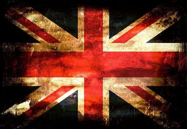 Die Fahne Großbritanniens.