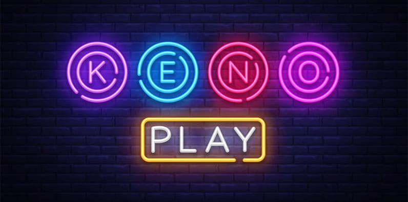 Keno Online Casino Spiel