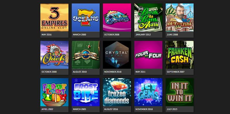 Top Microgaming Online Slots