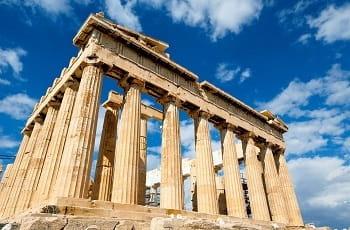 Die Athener Akropolis, Griechenland.