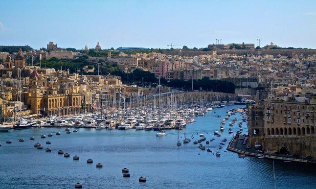 Hafen von Malta.