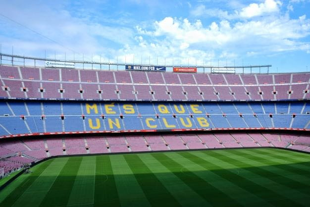 Das beliebte Camp Nou.