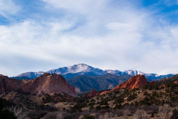 Garden of the Gods Road, Colorado Springs.