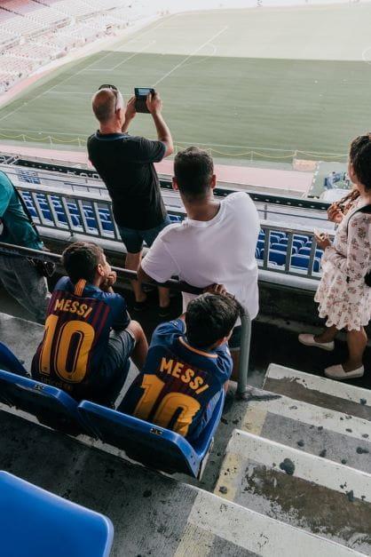 Messi-Fans.