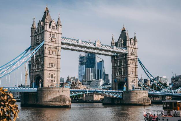 Die London Bridge der Hauptstadt Englands.