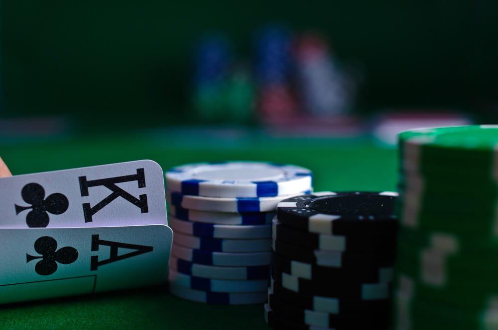 Königs Paar als starkes Blatt im Poker.