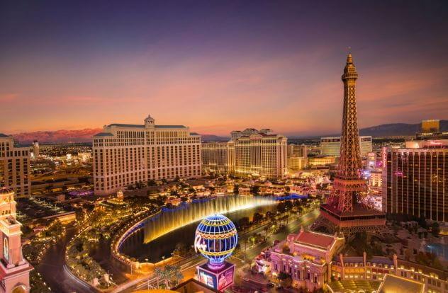 Las Vegas – der Ort an dem die jährliche WSOP stattfindet.