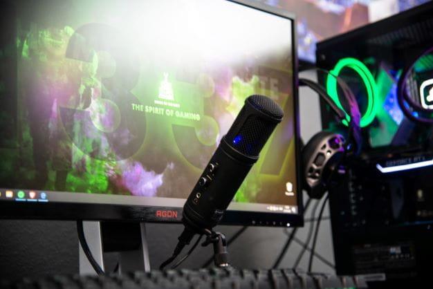 Streaming Setup wie es die meisten Streamer nutzen.
